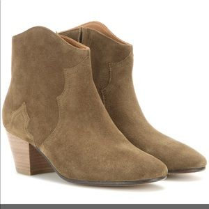 WORN ONCE Isabel Marant Dicker ankle boots